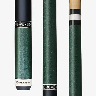 Players C604 Metallic Mint Green & Stealth Matte Wrap Pool/Billiards Cue Stick
