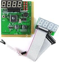 Optimal Shop 4 Digit PCI and ISA PC Computer Motherboard Analyzer Tester Diagnostic Debug POST Card External Display