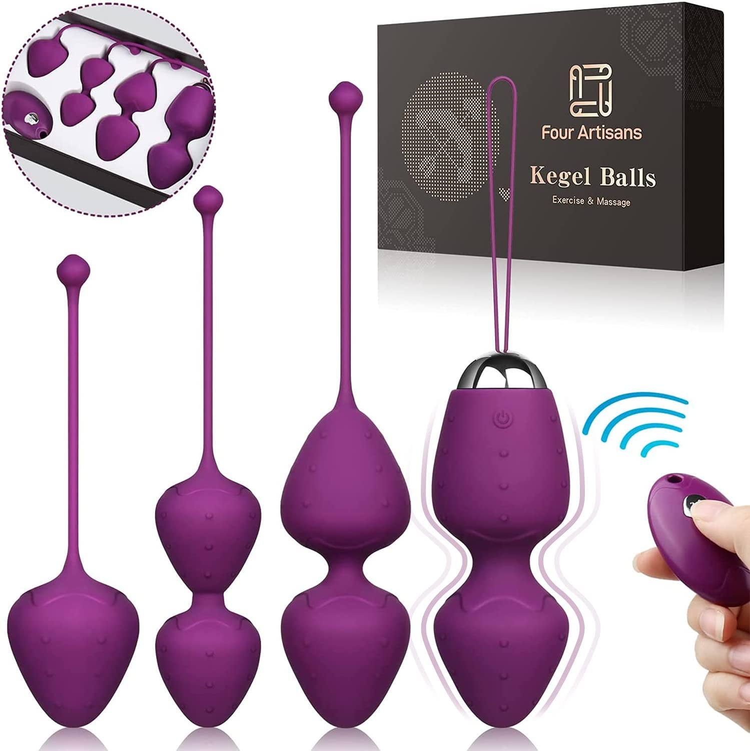 FourArtisans Kegel Balls for Don't miss the campaign Weights Exercise Women Special sale item W