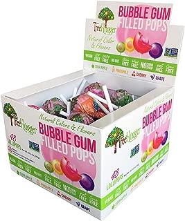 Tree Hugger Bubble Gum Pops Assorted Display, 48 Count