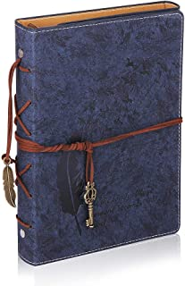 A5 Productivity Planner with Index Tab, Undated Diary Notebook Weekly Monthly Organiser Agenda, Calendar 2020 Self Design, Set Goal/Task Grow Happiness Idea for Life Office School Girl(Blue)