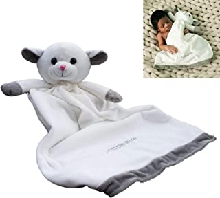 Lamb of God Security Blanket | Soft Plush Stuffed Animal Toy for Baby or Toddler | Best Shower or Birthday Gift for Boy or Girl | Lambie & Me Snuggle Buddie
