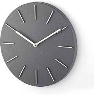 Bloom Flower 14 Inch Elegant Decorative Wall Clock Ideal for Living Room, Office - Large