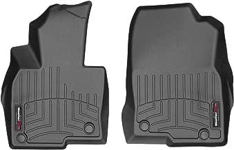 WeatherTech Custom Fit FloorLiner for Mazda CX-5-1st Row (Black)