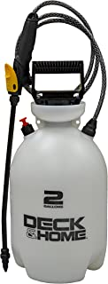 Deck & Home Universal Sprayer for Cleaning, Sealing & Killing Weeds, 2 Gallon