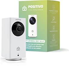 Smart Câmera 360 Wi-Fi, Positivo Casa Inteligente, 1080p Full HD, áudio bidirecional, controlado via celular, fácil instalação, compatível com Alexa