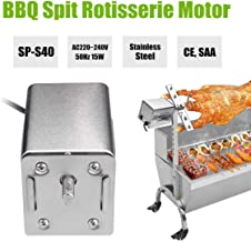 Barbeque Spit Rotisserie Motor SP-S40 AC220~240V 15W 50Hz Stainless Steel AU Plug For Roasted Lambs Piglets Chicken CE/SAA