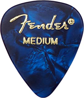 Best Fender Moto Style Guitar Picks, 12 Pack - Blue Review