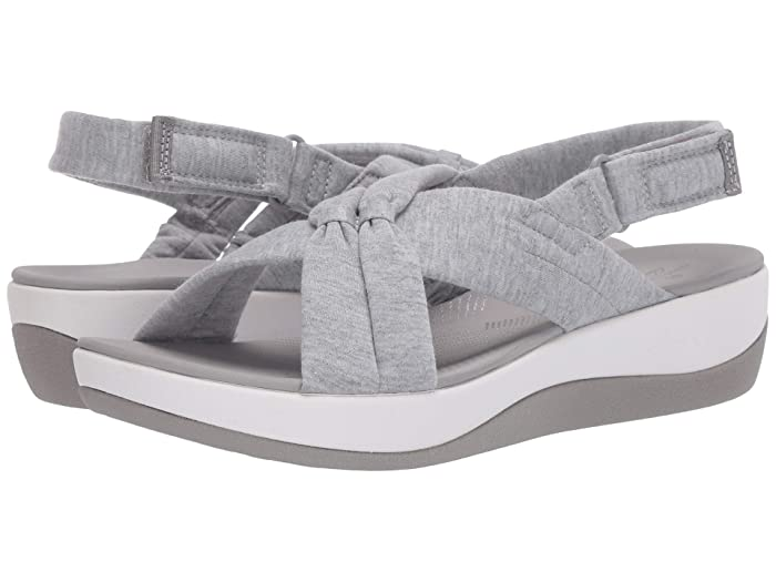 Clarks  Arla Belle (Grey Heathered Textile) Womens Shoes