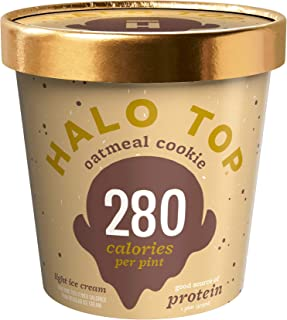 Halo Top Oatmeal Cookie, 16 oz (Frozen)