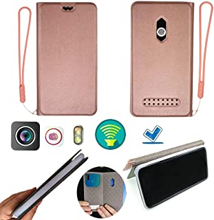 Case for Oukitel U7 Plus Case Silicone Protection Ring + Flip Cover Stand Shell Pink