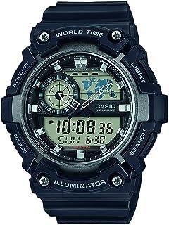 Casio Anadigi Men's Dial Resin Band Watch - AEQ-200W-1AVEF