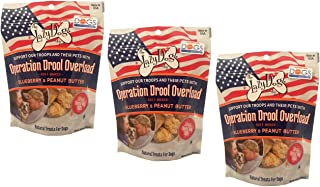 The Lazy Dog Cookie Co......... Operation Drool Overload Blueberry & Peanut Butter Dog Treat - 5oz