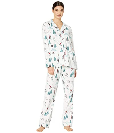 P.J. Salvage Bearly Awake PJ Set (Antique White) Women