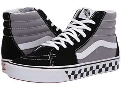 Vans ComfyCush SK8-Hi ((Tape Mix) Black/Frost Gray) Athletic Shoes