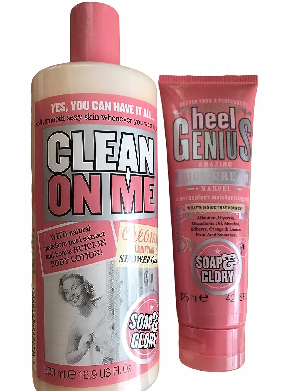 Soap Glory Clarifying Shower Gel Max 89% OFF and Cream Foot Se Heel Max 47% OFF Genius