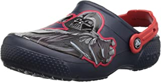 Crocs Kids' Boys and Girls Star Wars Dark Side Clog, Featuring Darth Vader & Stormtrooper Graphics