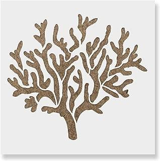 coral stencil