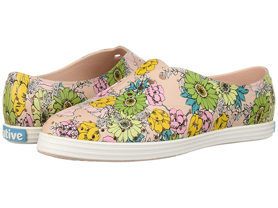 Native Shoes Jericho (Chameleon Pink/Shell White/Jardin) Women