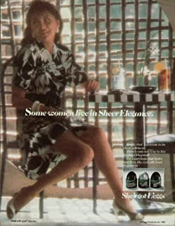 Some women live in L'eggs Sheer Elegance Pantyhose ad 1987