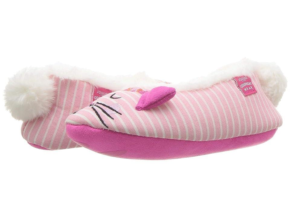 Joules Kids Slip-On Character Slipper (Toddler/Little Kid) (Cat) Girls Shoes