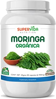 Moringa Orgánica 90 Capsulas