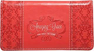 Checkbook Cover for Women & Men Christian Wallet, Faux Leather Christian Checkbook Cover for Duplicate Checks & Credit Cards