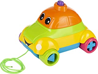 Funskool Stack A Car, Multi Color