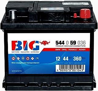 Autobatterie 12V 85Ah 800A BIG Silber Plus 30/% PKW Batterie statt 77Ah 80Ah 88Ah 90Ah