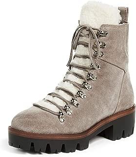 Jeffrey Campbell Women's Culvert Sherpa Combat Boots