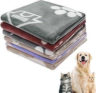 ULTECHNOVO 6 Pezzi Coperta Zampa Calda Coperta per Cani E Gatti Coperta Soffice per Animali Domestici Coperta Calda Cuscino per Cani E Gatti
