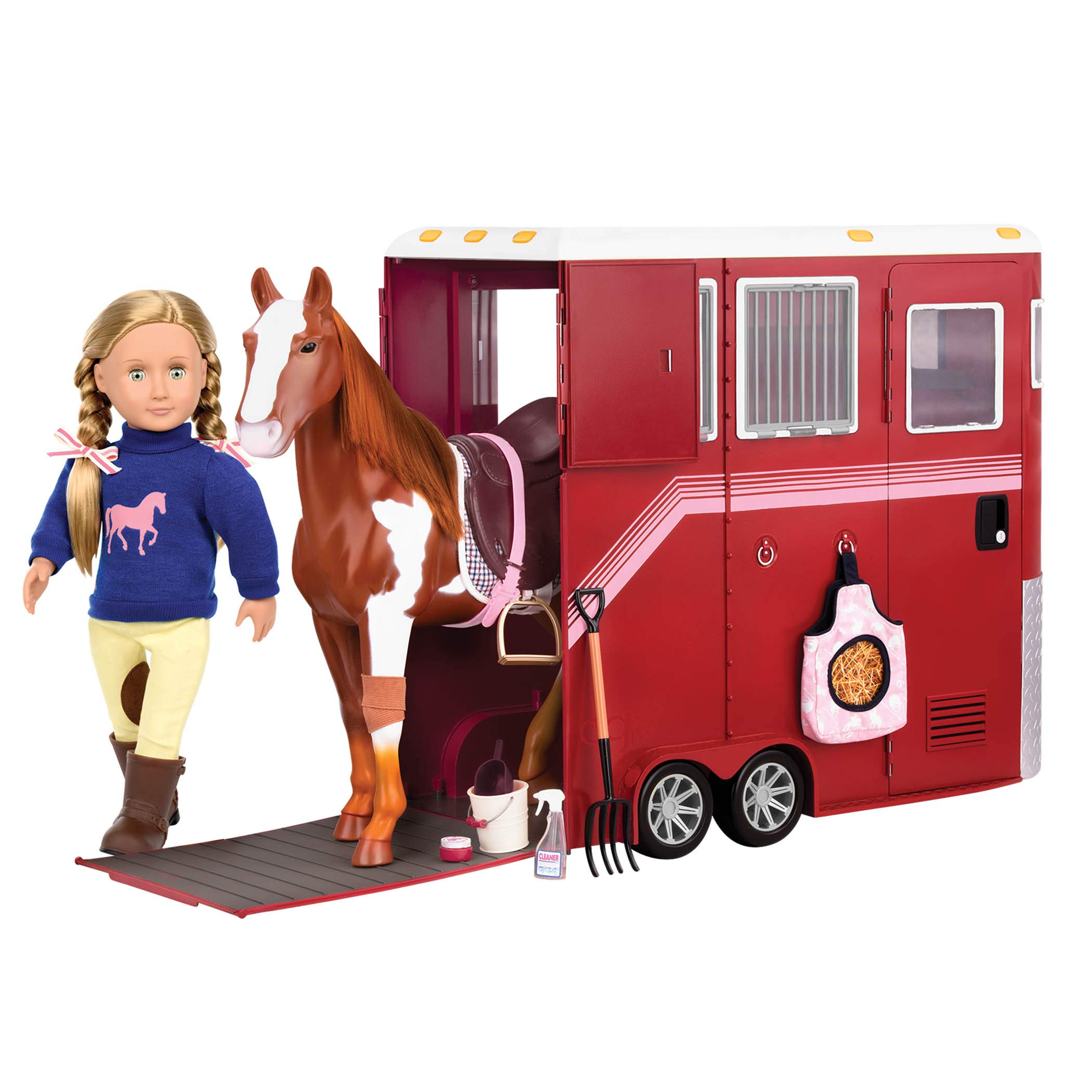 Our Generation BD38017Z Caballo Appaloosa 51 cm
