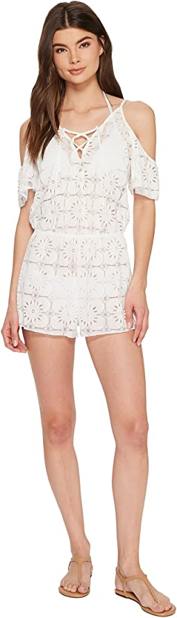 Isabella Rose - Flower Fest Romper Cover-Up
