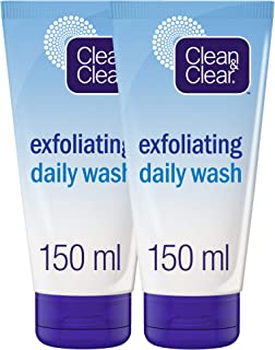 CLEAN & CLEAR Daily Wash Exfoliating, 150 ml, Pack of 2