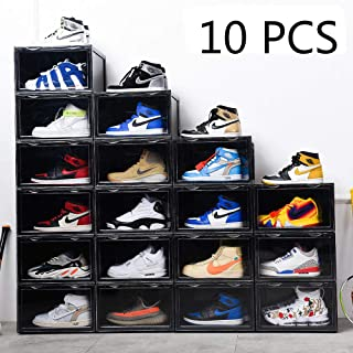 Best clear foldable shoe boxes Reviews