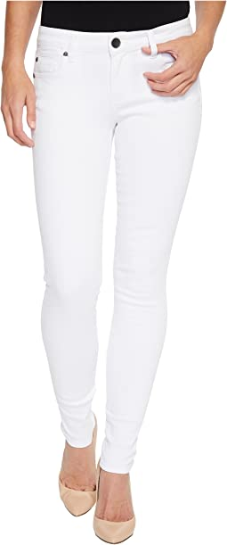 KUT from the Kloth Mia Toothpick Skinny in Optic White