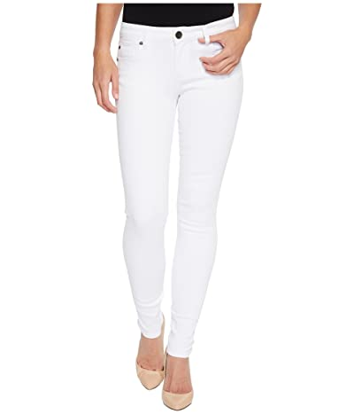 KUT from the Kloth Mia Toothpick Skinny in Optic White (Optic White) Women