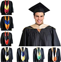 GRADWYSE Master of Business Administration MBA Drab Graduation Master Degree Hood, Various College Colors Available