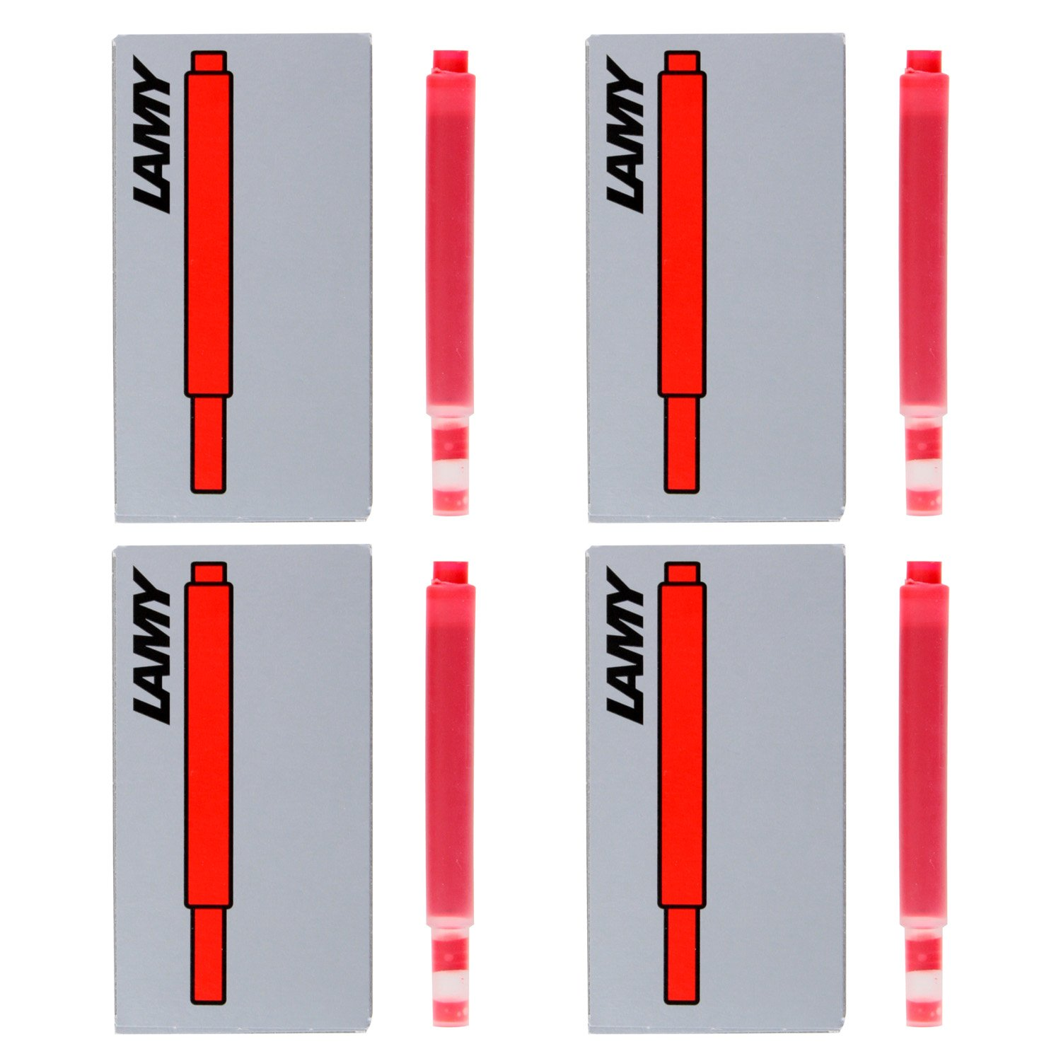 Lamy Fountain Pen Ink Cartridges 20 Our shop OFFers the best service Quantity limited of Red LT10RD Pack