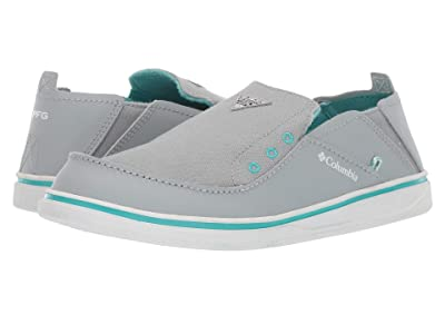 Columbia Kids Bahamatm PFG (Toddler/Little Kid/Big Kid) (Earl Grey/Geyser) Girls Shoes