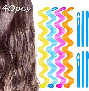 diy heatless waves