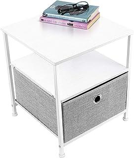 Amazon.com: White - Nightstands / Bedroom Furniture: Home & Kitchen