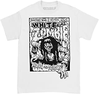 Men's Alive & Deadly T-Shirt White