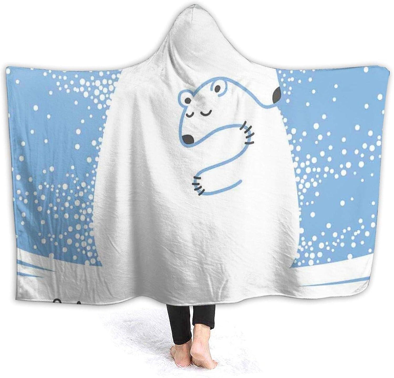 Popular Max 70% OFF Hooded Blanket Anti-Pilling Flannel Mother He Hugging Bear Polar