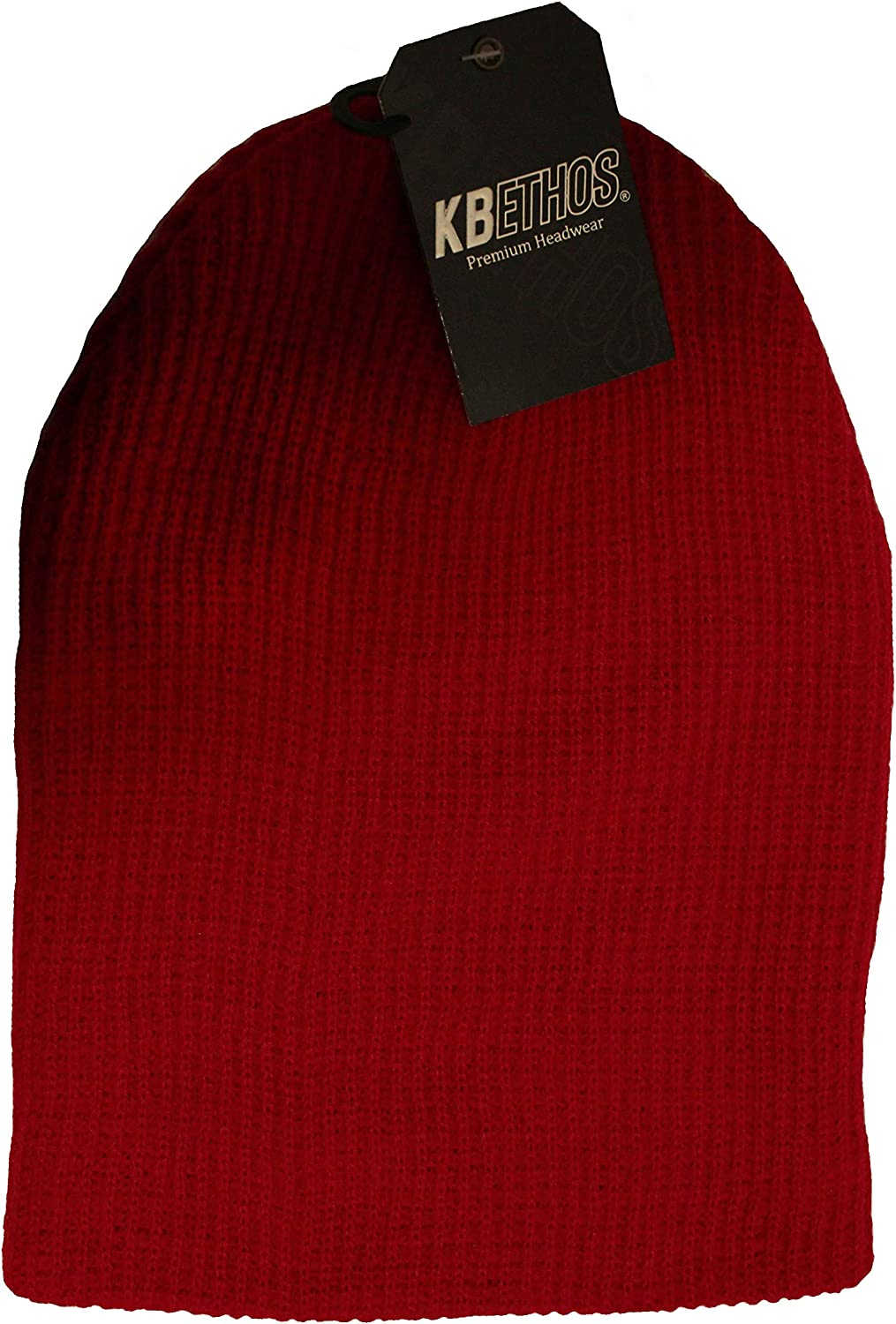 RED Slouchy Beanie Hat .KBETHOS. Style : KBW - 12 New