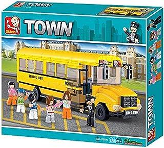 "Sluban School Bus ""Town"" Building Kit (382-Piece)"