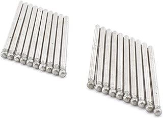 ILOVETOOL 3mm Round Shape Diamond Bits Carving Tools for Gem Stone Pack of 20Pcs