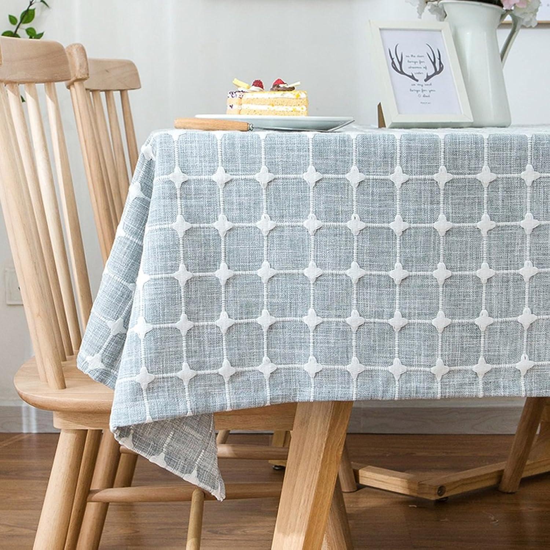 punto de venta barato Cubierta de tabla a prueba de polvo nórdica moderna moderna moderna moderna de la tela escocesa de algodón de la tela escocesa para la decoración de la mesa de Dinning de la cocina ( Color   A , Tamaño   130x250cm )  lo último