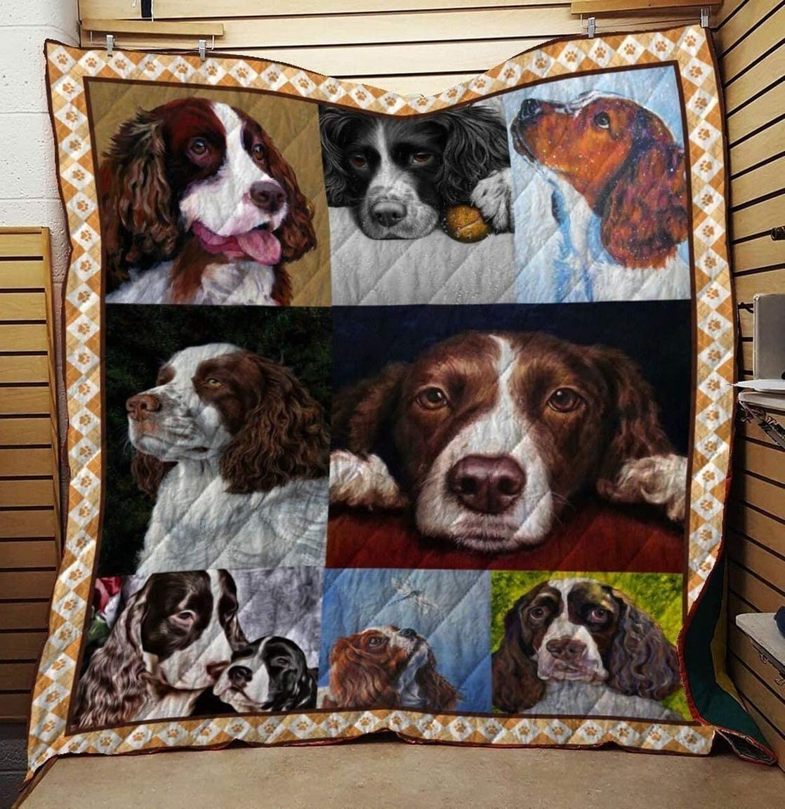 Gifts Personalized English Springer Spaniel My wholesale Best Quilt Friend All-S