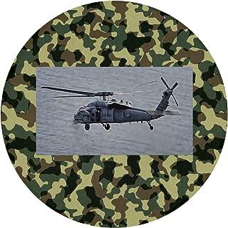 Readoormat MH-60 Seahawk Helicopter Waterhog Non-Slip Doormat,Indoor/Outdoor,Skid Resistant,Easy to Clean 60cm(24inch)